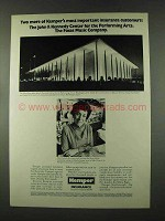 1973 Kemper Insurance Ad - Kennedy Center for the Arts
