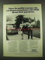 1973 GMAC Financing Ad - Call About Payments
