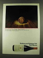 1973 Paul Masson Pinot Noir Wine Ad