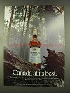1973 Canadian Mist Whisky Ad - At Best