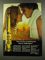 1973 Galliano Liquore Ad - Harvey Wallbanger