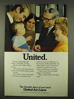 1973 United Air Lines Ad - United