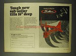 1973 Brillion Sub-Soiler Ad - Tills 16 Inches Deep