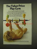 1973 Fisher-Price Play Gym Ad