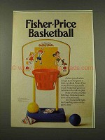 1973 Fisher-Price Basketball Ad