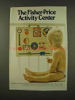 1973 Fisher-Price Activity Center Ad
