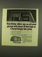 1973 Butler All-Steel Garage Ad - Doors 10 Feet High