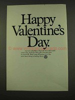 1973 Bell Telephone Ad - Happy Valentine's Day