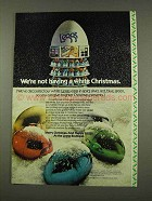 1973 L'eggs Pantyhose Ad - Not Having a White Christmas
