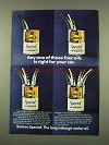 1973 Sunoco Special Motor Oil Ad - Any of These