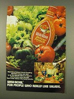 1973 Wish-Bone Deluxe French Dressing Ad