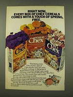 1973 Ralston Chex Cereal Ad - Touch of Spring
