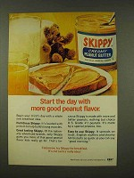 1973 Skippy Creamy Peanut Butter Ad - Start the Day