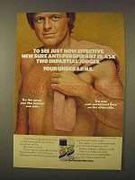 1973 Sure Deodorant Ad - To See How Effective