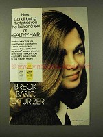1973 Breck Basic Texturizer Ad - Healthy Hair