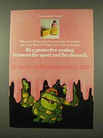 1973 Pepto-Bismol Medicine Ad - Foul-Weather Friend