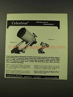 1973 Celestron 14 and 5 Telescope Ad - Multipurpose