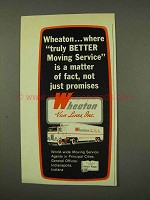 1973 Wheaton Van Lines Ad - Truly Better Moving Service
