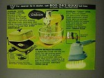 1973 Sunbeam Ad - Cook & Clean Frypan, Today Iron