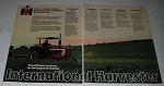 1973 International Harvester 656 Hydro Tractor Ad