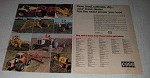1973 Case Tractors Ad - Farm, David Brown, Agri King