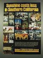 1974 Southern California Ad - Sunshine Costs Less