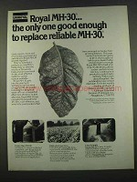 1974 Uniroyal MH-30 Ad - Only One Good Enough