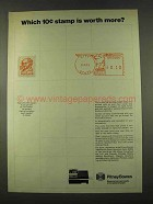 1974 Pitney-Bowes Mailing Equipment Ad - Which Stamp?
