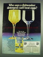 1974 Palmolive Crystal Clear Dishwasher Powder Ad