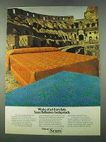 1974 Sears Bellissimo Bedspreads Ad - Works of Art
