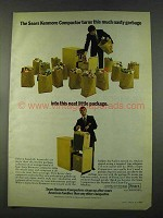 1974 Sears Kenmore Compactor Ad - Nasty Garbage