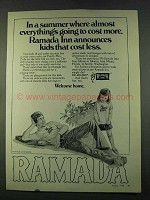1974 Ramada Inn Ad - Everything's Cost More