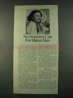 1974 Oil of Olay Vitalizing Night Cream Ad - Care