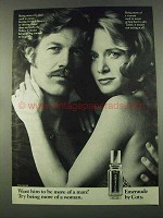 1974 Coty Emeraude Perfume Ad - Want Him More of a Man?