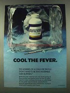 1974 Bufferin Medicine Ad - Cool The Fever