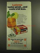 1974 Luzianne Tea Ad - Tastes Great Costs Less