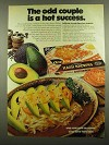 1974 Ore-Ida Shredded Hash Browns Ad - The Odd Couple