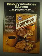 1974 Pillsbury Figurines Ad - Diet Meal You Munch
