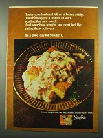 1974 Stouffer's Creamed Chipped Beef Ad