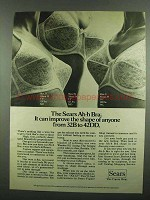1974 Sears Ah-h Bra Ad - Improve Shape of Anyone