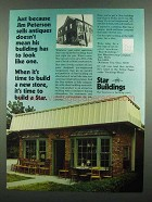 1974 Star Buildings Ad - Jim Peterson Sells Antiques