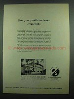 1974 Warner & Swasey Research Center Ad - Create Jobs