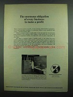 1974 Warner & Swasey MACH II Punching Machine Ad - A Profit