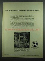 1974 Warner & Swasey Vertical Boring Mill Ad