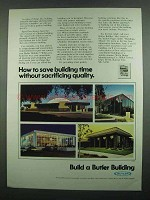 1974 Butler Buildings Ad - Save Building Time