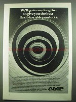 1974 AMP Matched-Impedance Transmission Cable Ad