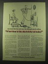 1974 American Electric Power Ad - Time Electricity On