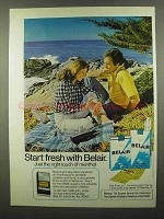 1974 Belair Cigarettes Ad - Start Fresh With