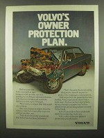 1974 Volvo Car Ad - Owner Protection Plan