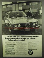 1974 BMW Cars Ad - Excellent Gas Mileage